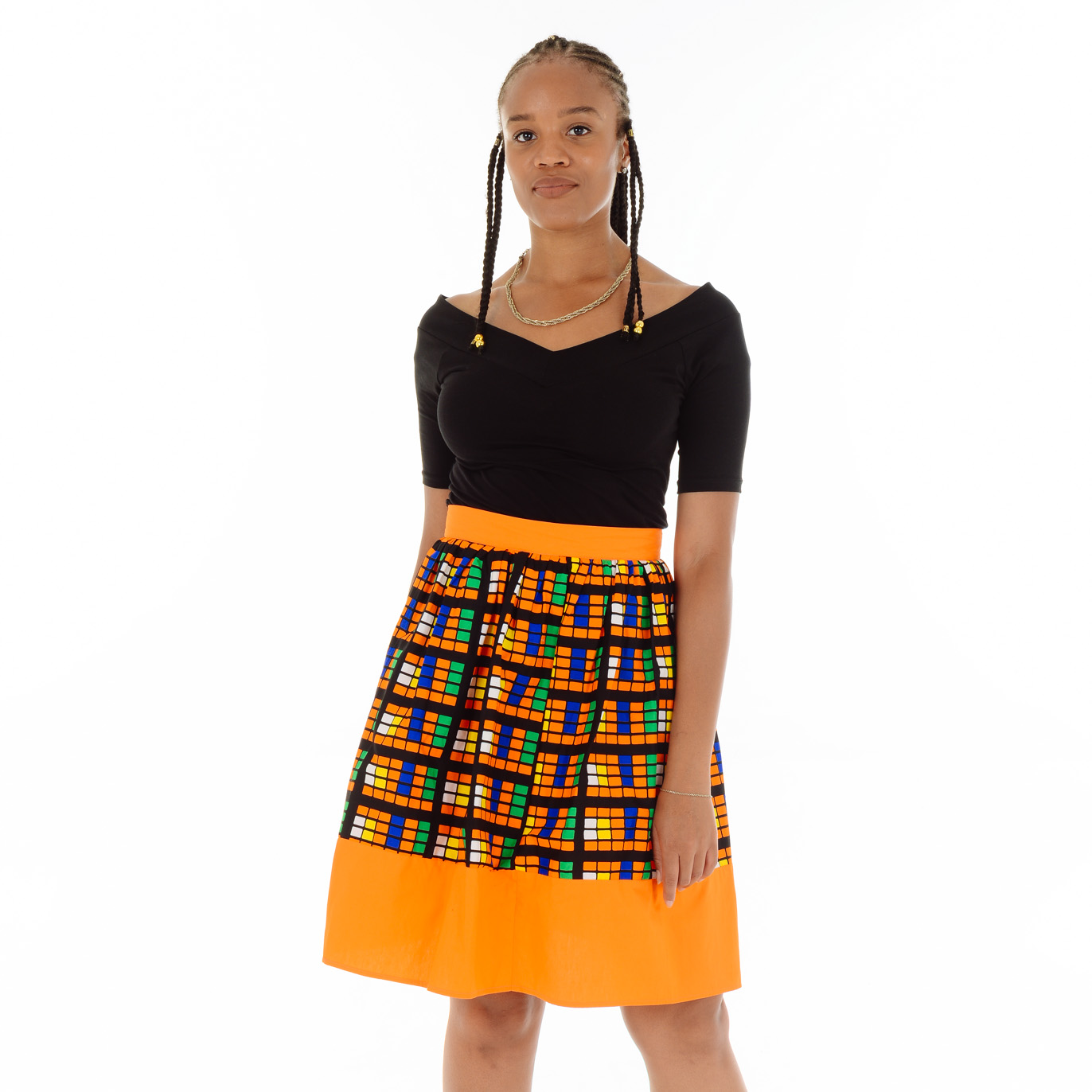 Tonto Mixed Skirt